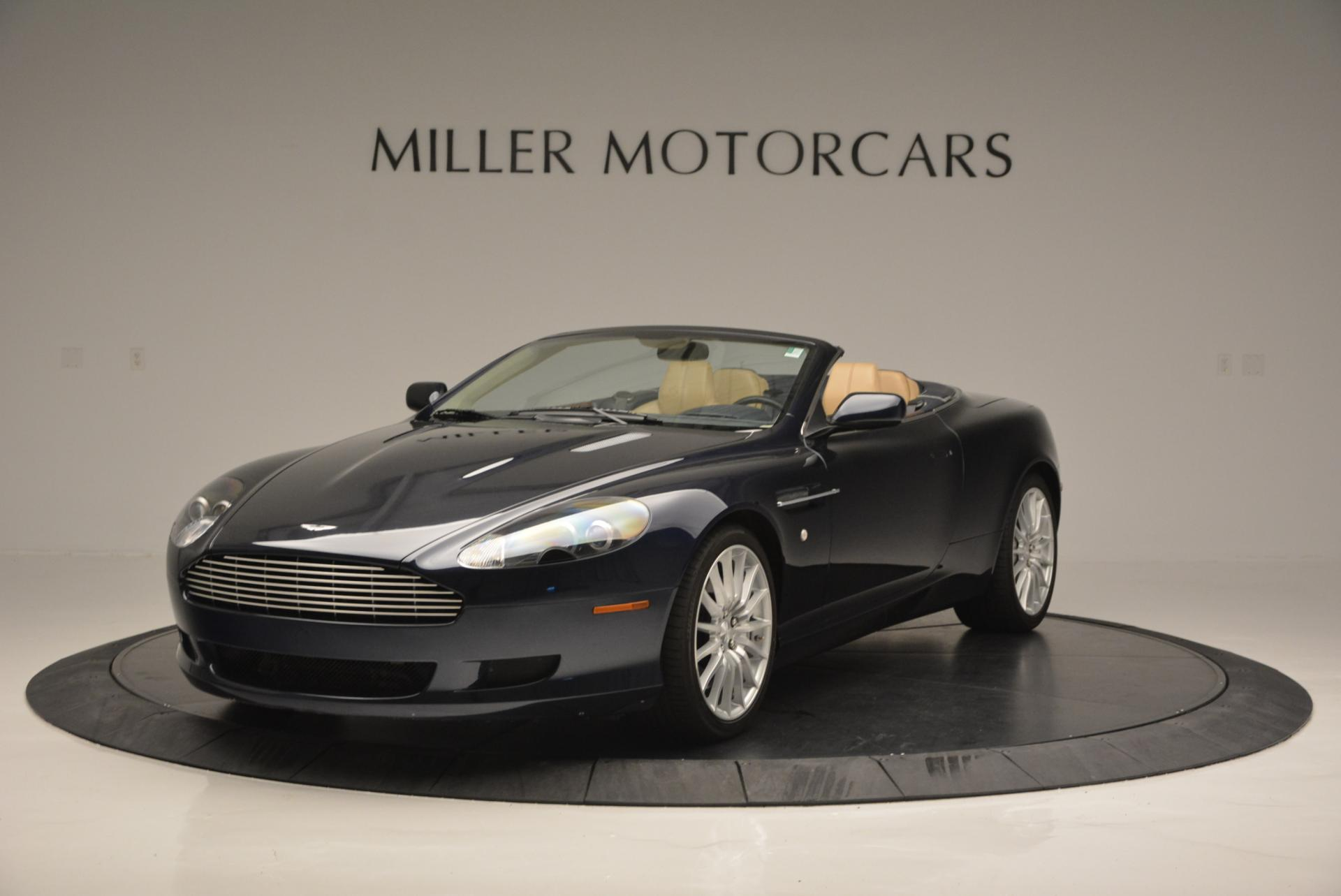 Used 2007 Aston Martin DB9 Volante for sale Sold at McLaren Greenwich in Greenwich CT 06830 1