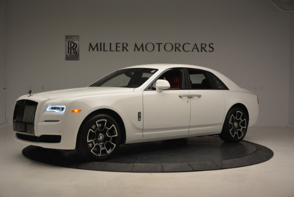New 2017 Rolls-Royce Ghost Black Badge for sale Sold at McLaren Greenwich in Greenwich CT 06830 2