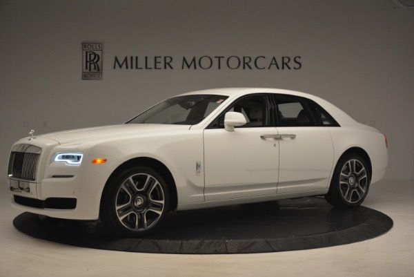 Used 2017 Rolls-Royce Ghost for sale Sold at McLaren Greenwich in Greenwich CT 06830 2