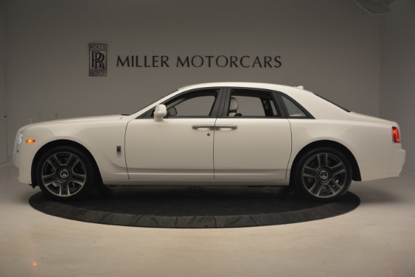 Used 2017 Rolls-Royce Ghost for sale Sold at McLaren Greenwich in Greenwich CT 06830 3