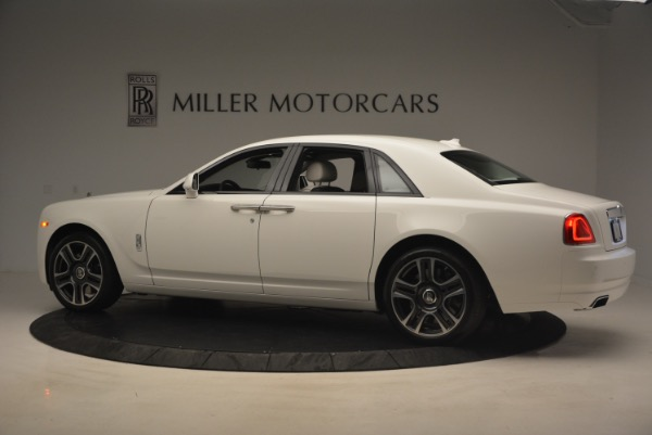 Used 2017 Rolls-Royce Ghost for sale Sold at McLaren Greenwich in Greenwich CT 06830 4