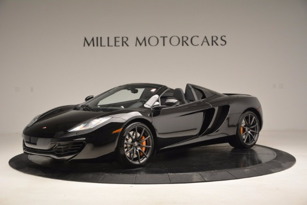 Used 2013 McLaren 12C Spider for sale Sold at McLaren Greenwich in Greenwich CT 06830 2