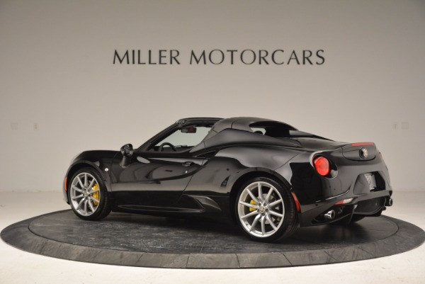 New 2016 Alfa Romeo 4C Spider for sale Sold at McLaren Greenwich in Greenwich CT 06830 4