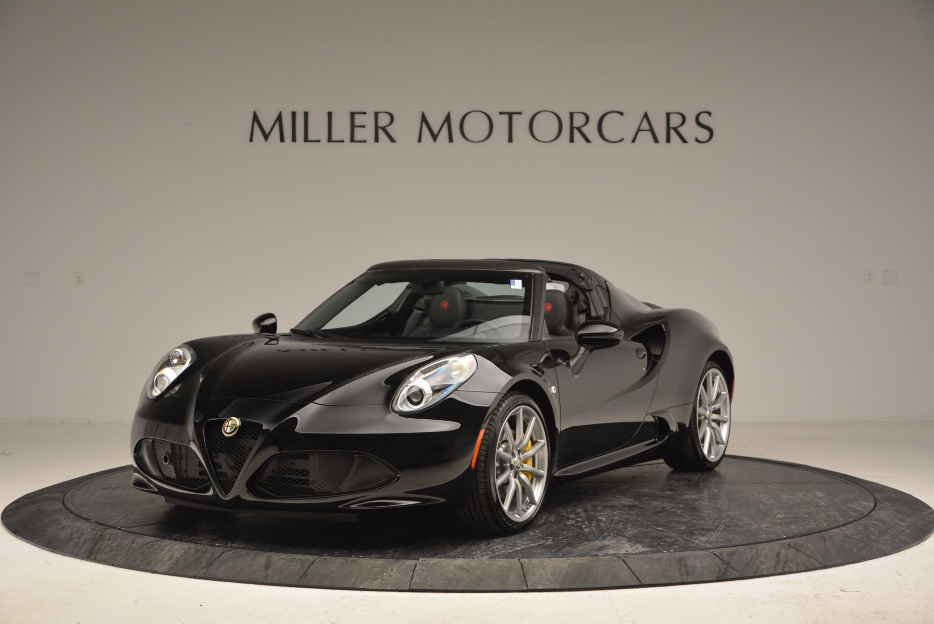 New 2016 Alfa Romeo 4C Spider for sale Sold at McLaren Greenwich in Greenwich CT 06830 1