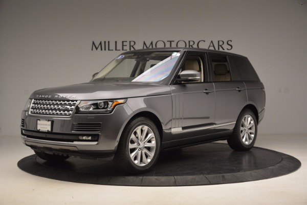 Used 2016 Land Rover Range Rover HSE TD6 for sale Sold at McLaren Greenwich in Greenwich CT 06830 2