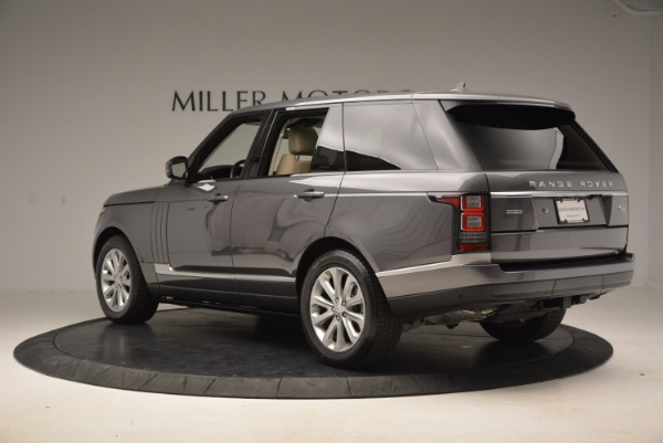 Used 2016 Land Rover Range Rover HSE TD6 for sale Sold at McLaren Greenwich in Greenwich CT 06830 4