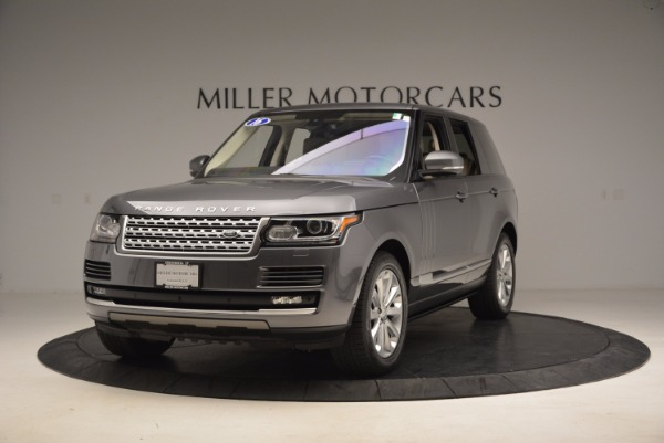 Used 2016 Land Rover Range Rover HSE TD6 for sale Sold at McLaren Greenwich in Greenwich CT 06830 1