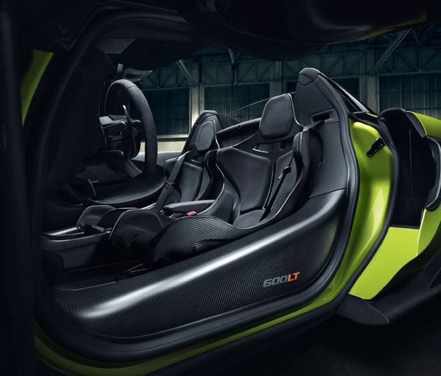 600LT Spider Interior
