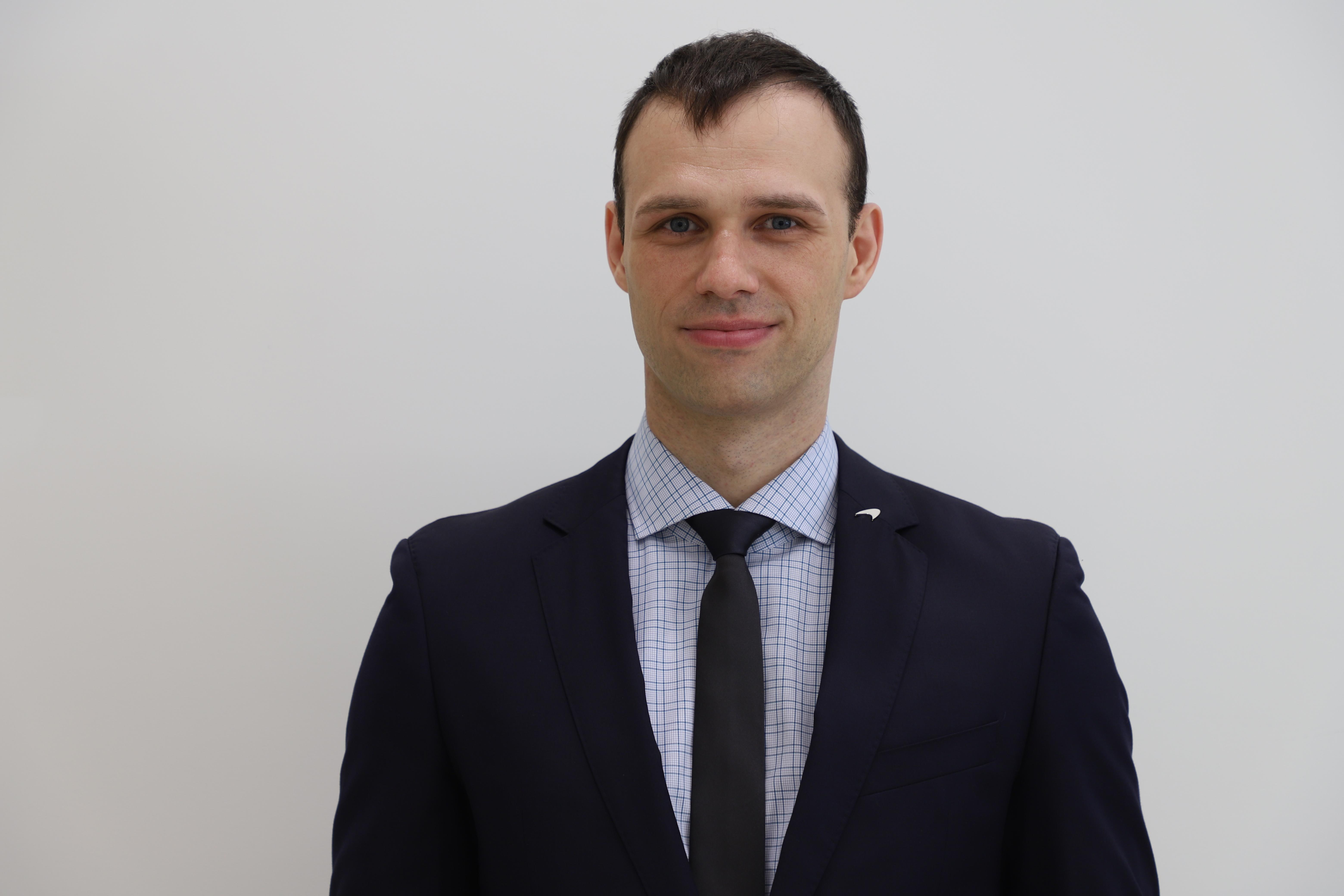 Aleksey Katkov - Sales Specialist - McLaren